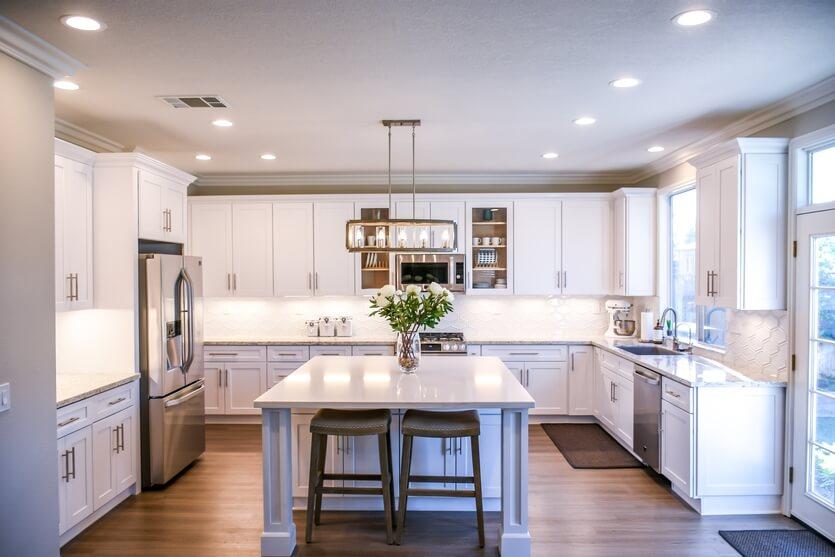 LED-lampen voor in de keuken