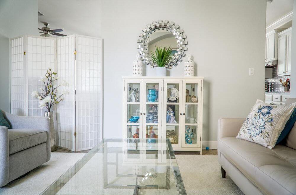 Gebruik spiegels als decoratie object