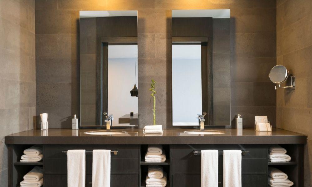 Spiegels voor in de badkamer
